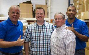 About Perfect Touch -Jon and Jeff Welch at TMT Factory training for Perfect Touch Hard Surface Solutions